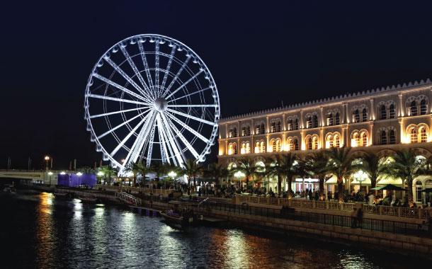 Eye Of The Emirates Wheel
