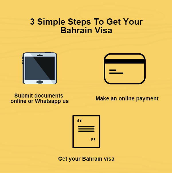 3 Simple Steps to get your Bahrain Visa