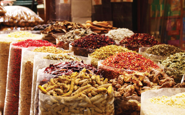 Spice souk of Dubai