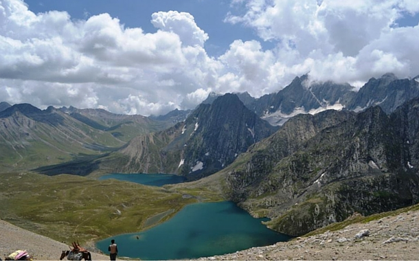 Twin Lakes Vishansar and Krishansar