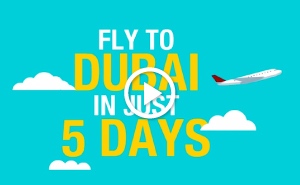 Musafir Dubai Visit visa for 90 days
