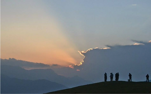 Sunrise in Uttarakhand