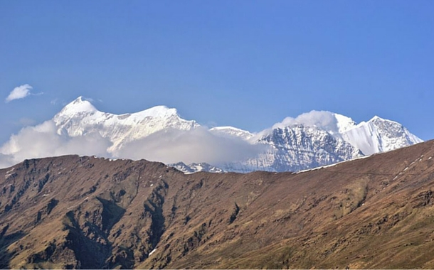 Snow-capped mountains, Uttarakhand