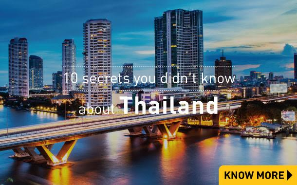 10 secrets you didn't know about Thailand