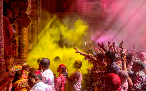 7 Beautiful places to celebrate Holi in India in 2019
