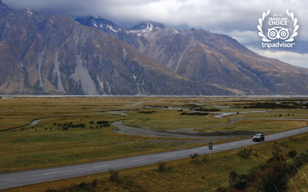 A scenic self-drive in New Zealand