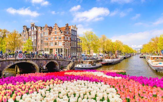 Amsterdam with Canal Cruise