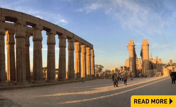 An encounter with Egypt's erstwhile capital city, Luxor