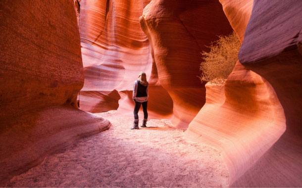 Antelope Canyon in Arizona, United States