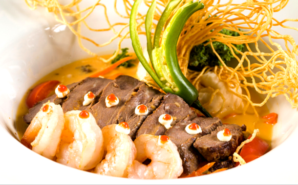 Asian style Surf and Turf