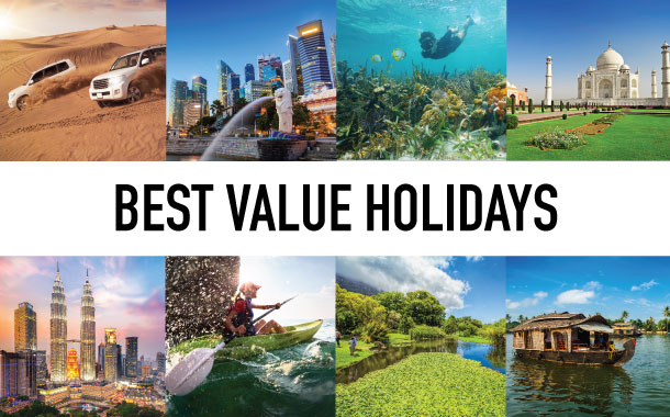Why choose are best value holidays?