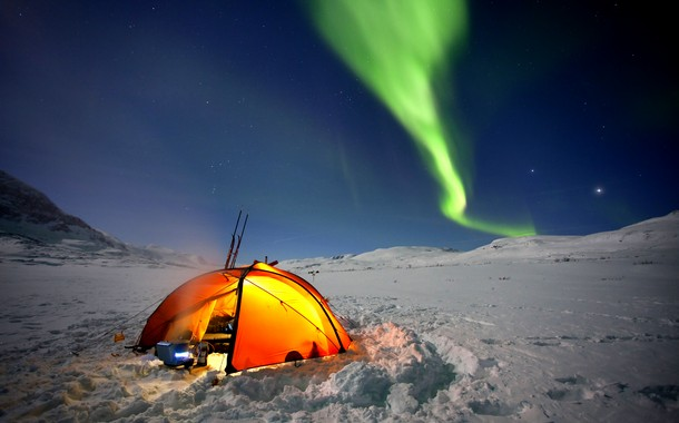 Camping for the Northern Lights