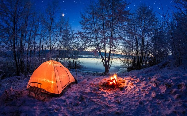 Camping In The Open