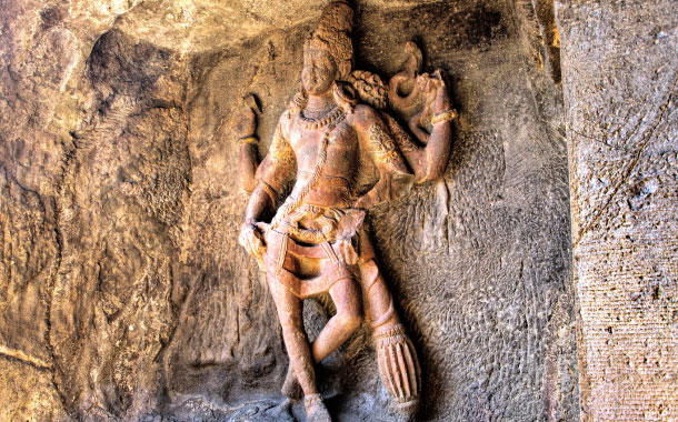 Carving of Lord Shiva