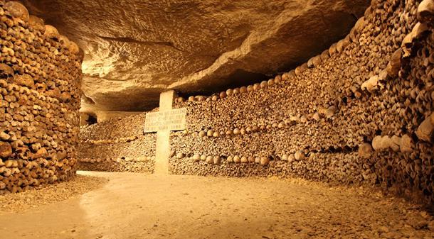 Catacombs view