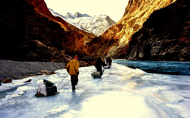 Chaadar Trek on Zanskar