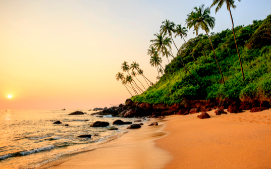 Cola beach, South Goa