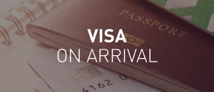 Countries with visa on arrival
