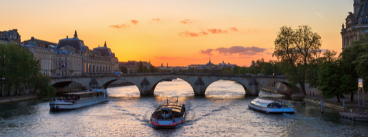 Cruise on River Seine
