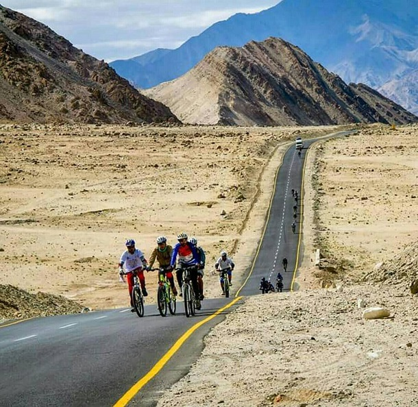 Cycling, Ladakh
