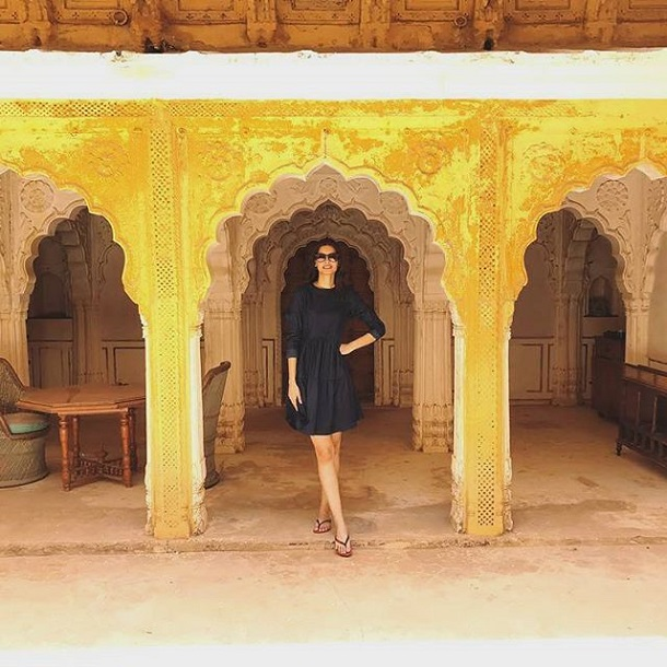 Diana Penty at Fort Pokaran