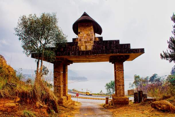Entrance to The Mount Of Heavens Navel
