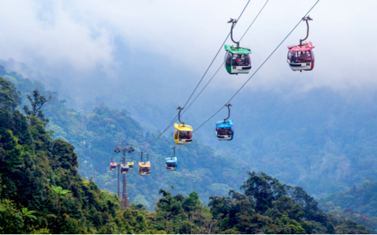 Genting Skyway cable car ride