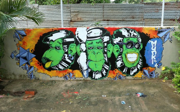 Indian cities with the most beautiful graffiti