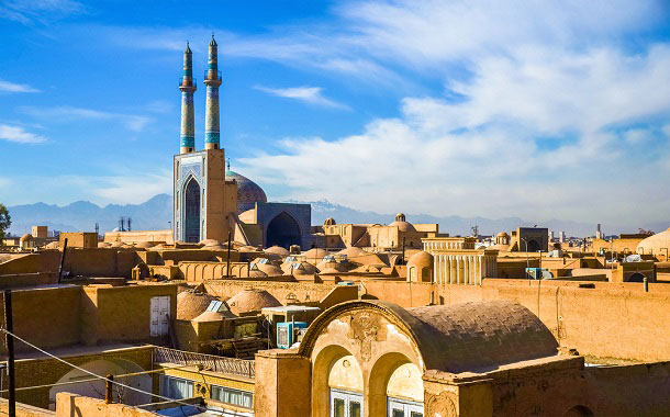 Historic city of Yazd, Iran