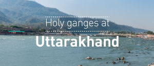 Holy Ganges at Uttarakhand