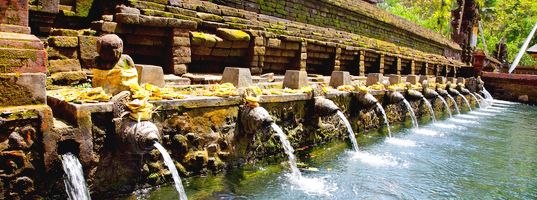 Holy springs of Tirta Empul temple