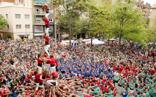 Human towers, La Mercè