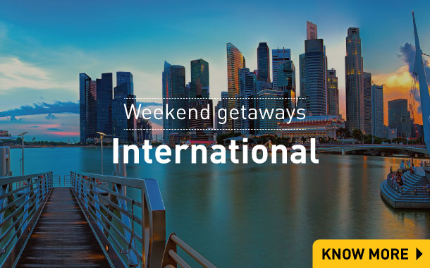 International Weekend Getaways