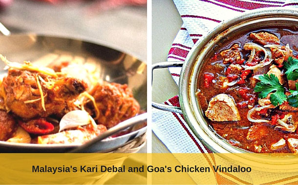 Kari Debal and Chicken Vindaloo