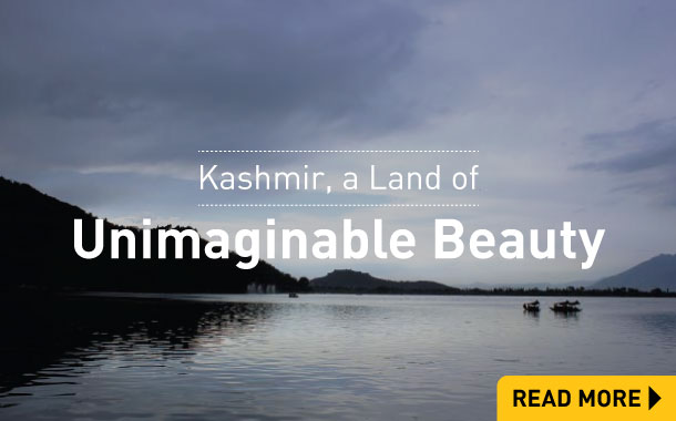 Kashmir a land of unimaginable beauty