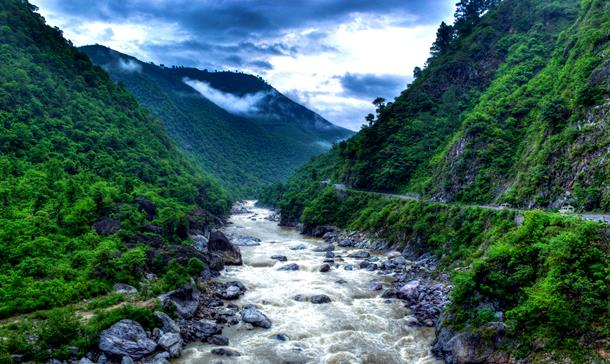 Kosi River valley, Almora
