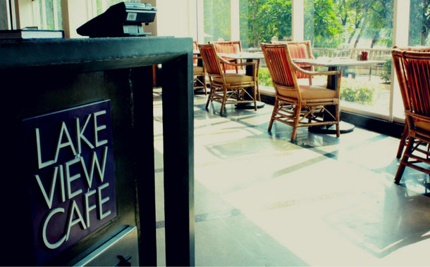 Lake View Cafe at the Renaissance, Mumbai