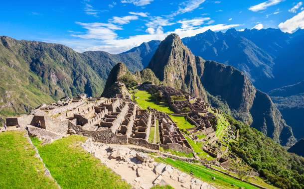 Lost Incan City of Machu Picchu, Peru