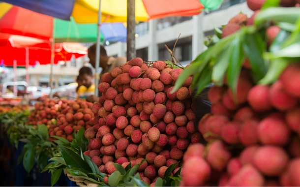 Lychee of Mauritius