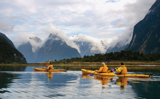 Sea kayak, New Zealand