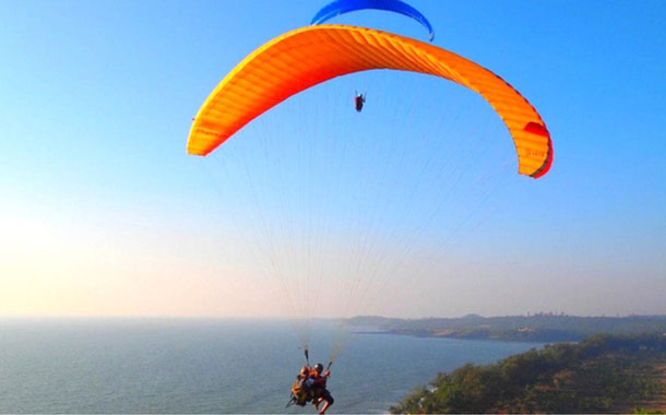 Parasailing in Goa