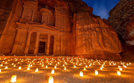 Petra city tour