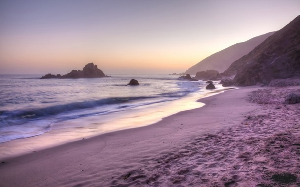 Pfeiffer Purple Sand Beach located in California