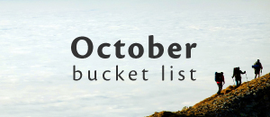 Places to visit in October