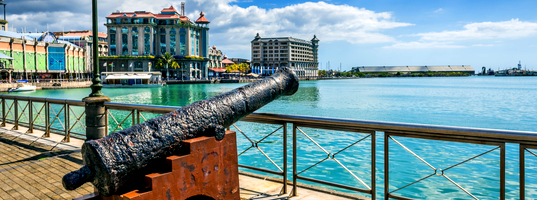 Port Louis water front