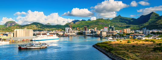Port Louis waterfront