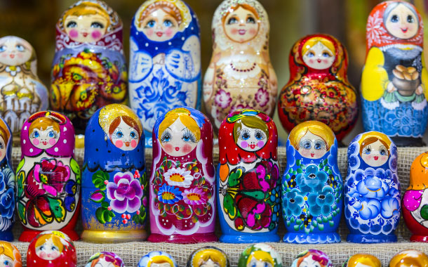 Russian Dolls,  Moscow
