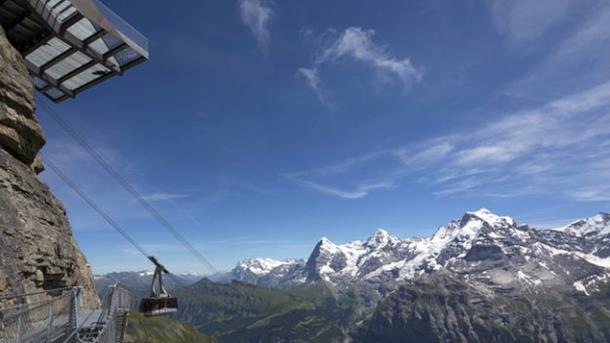 schilthorn, cable car