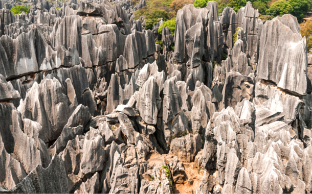 Shillin Stone Forest, China