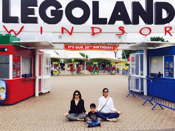Shilpa and Shamita Shetty, Legoland